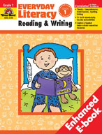 Everyday Literacy: Reading and Writing, Grade 1 (Enhanced eBook)