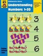 Math Activity Books, Understanding Numbers 1,20 (Enhanced eBook)