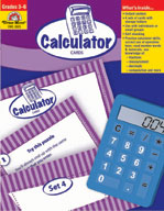 Math Activity Cards, Calculator Cards (Enhanced eBook)