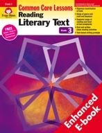 Reading Literary Text: Common Core Lessons, Grade 3 - e-book