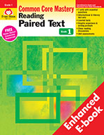 Reading Paired Text: Common Core Mastery, Grade 1 - e-book