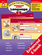 Take It to Your Seat Common Core Language Centers, Grade 1 - ebook