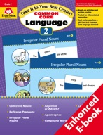 Take It to Your Seat Common Core Language Centers, Grade 2 - ebook