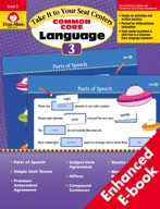 Take It to Your Seat Common Core Language Centers, Grade 3 - ebook