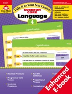 Take It to Your Seat Common Core Language Centers, Grade 4 - ebook