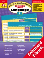 Take It to Your Seat Common Core Language Centers, Grade 5 - ebook