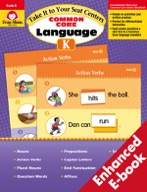 Take It to Your Seat Common Core Language Centers, Grade K - ebook