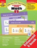 Take It to Your Seat: Common Core Math Centers: Grade 1 (Enhanced eBook)