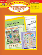 Take It to Your Seat Geography Centers, Grades 1,2 (Enhanced eBook)