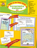 Take It to Your Seat Geography Centers, Grades 4-5 (Enhanced eBook)