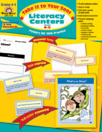Take It to Your Seat Literacy Centers, Grades 4-5 (Enhanced eBook)