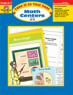 Take It to Your Seat Math Centers, Grades 3-4 (Enhanced eBook)