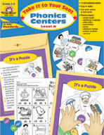 Take It to Your Seat Phonics Centers, Level D, Grades 2-3 (Enhanced eBook)