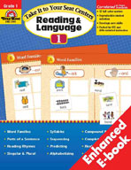 Take It to Your Seat Reading and Language Centers, Grade 1 (Enhanced eBook)