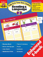 Take It to Your Seat Reading and Language Centers, Grade 2 (Enhanced eBook)