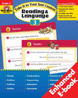 Take It to Your Seat Reading and Language Centers, Grade 3 (Enhanced eBook)