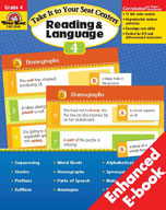 Take It to Your Seat Reading and Language Centers, Grade 4 (Enhanced eBook)