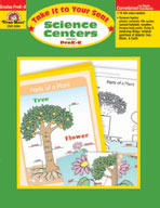 Take It to Your Seat Science Centers, PK-K (Enhanced eBook)