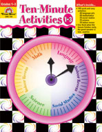 Ten-Minute Activities, Grades 1-3 (Enhanced eBook)