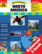 The 7 Continents: North America (Enhanced eBook)