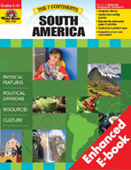 The 7 Continents: South America (Enhanced eBook)