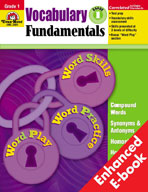 Vocabulary Fundamentals: Grade 1 (Enhanced eBook)
