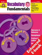 Vocabulary Fundamentals: Grade 3 (Enhanced eBook)