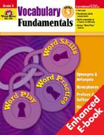 Vocabulary Fundamentals: Grade 5 (Enhanced eBook)