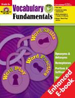 Vocabulary Fundamentals: Grade 6 (Enhanced eBook)