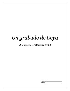 EMC reader, book 3 - Un grabado de Goya
