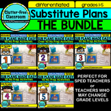 SUB PLANS BUNDLE GR 1-5 for your SUBSTITUTE TEACHER BINDER