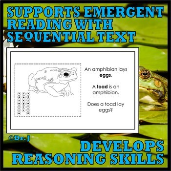 Animal Classes for PK-1: AWESOME AMPHIBIANS (Cut-and-Glue Science)