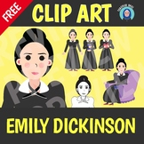FREE Emily Dickinson Clip Art
