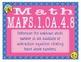 MAFS.1.OA.4.8 Florida - EMOJI 1st Grade Math Problems Task Cards Flash Cards