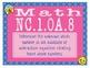 North Carolina Math NC.1.OA.8 1st Grade Task Cards Missing Equation # Up to 20