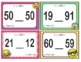 EMOJI 1st Grade Math Problems Task Cards Flash Cards - Texas TEKS 1.2G