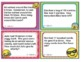 EMOJI 1st Grade Math Problems Task Cards Word Problems - Common Core 1.OA.A.1
