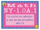 EMOJI 1st Grade Math Problems Task Cards Word Problems - New York NY-1.OA.1