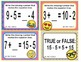 EMOJI 1st Grade Math Task Cards Commutative Associative-North Carolina NC.1.OA.3