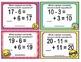 1st Grade Math Task Cards Subtraction Unknown Addend EMOJI - CCSS Aligned
