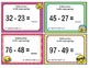 EMOJI 2nd Grade Math Problems Task Cards Add/Subtract - Florida MAFS.2.NBT.2.5
