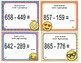 EMOJI 2nd Grade Math Problems Task Cards Add/Subtract to 1,000 - CCSS Aligned