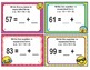 EMOJI 2nd Grade Math Problems Task Cards Expanded Form - Common Core Aligned
