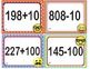 EMOJI 2nd Grade Math Problems Task Cards Flash Cards - Add Subtract 10 100- CCSS