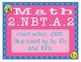EMOJI 2nd Grade Math Problems Task Cards Flash Cards - Common Core 2.NBT.A.2