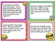 EMOJI 2nd Grade Math Problems Task Cards Flash Cards - Common Core Aligned