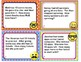 EMOJI 2nd Grade Math Word Problems Task Cards Flash Cards - Common Core Aligned