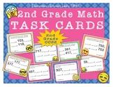 EMOJI 2nd Grade Math Problems Task Cards Flash Cards-Skip