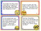 EMOJI 3rd Grade Math Problems Task Cards Flash Cards - Common Core Aligned