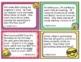 Georgia Math MGSE3.OA.8 3rd Grade Task Cards Word Problems